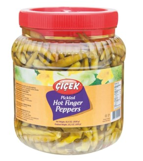 FINGER HOT PEPPER PICKLES 1850GRx12